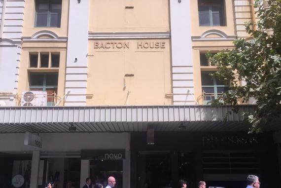 Bacton House Hay Street Mall